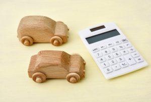 自動車と電卓
