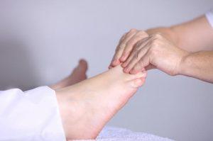 足の指の治療