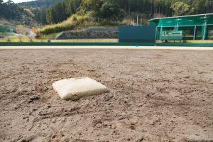 野球ベースとグランド