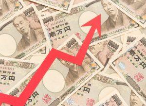 お金と矢印