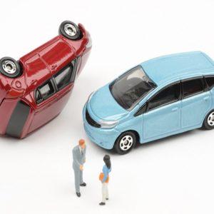 自動車の事故
