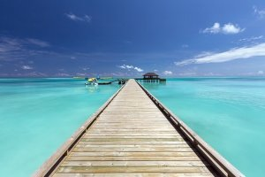 青空と綺麗な海