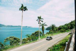 海辺のドライブ