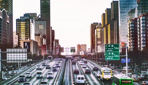 街中の高速道路