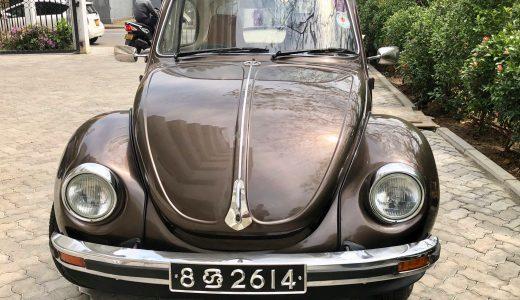 茶色い自動車